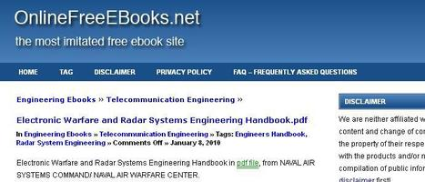 Telecommunication Engineering » PDF ebooks, Owners Service Manuals & Guides » OnlineFreeEbooks.net | Sonido Imagen y Telecomunicaciones | Scoop.it