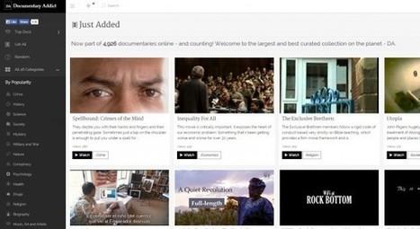 documentaryaddict, una web con casi 5.000 documentales clasificados   Clases de lengua.Aprender a aprender   Scoop.it