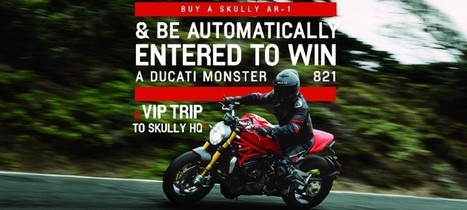 Enter to Win a Ducati Motorcycle from Skully | Ductalk Ducati News | Scoop.it