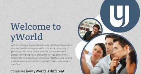 yWorld, red social con rankings de prestigio e influencia en el propio ámbito profesional   Educación y TIC   Scoop.it