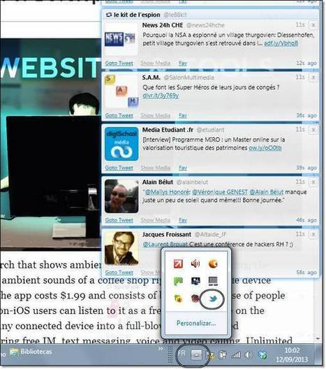 Twitter Alert notification temps réel [freeware] | Geeks | Scoop.it