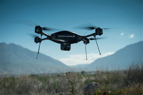 Stitching a drone's view of the world into 3D maps as it flies | MishMash | Scoop.it