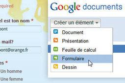 Faites vos formulaires de sondages avec Google Docs | Outils et  innovations pour mieux trouver, gérer et diffuser l'information | Scoop.it