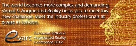 New Dimensions Conference - European Virtual & Augmented Reality Conference 2012 | Pervasive Entertainment Times | Scoop.it