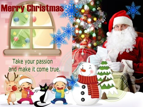 Christmas Greeting Cards and Happy New Year 2014 | E-Cards For Birthday - wedding or anniversary | Scoop.it