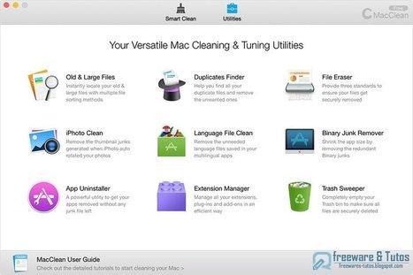iMobie MacClean 2 : une nouvelle version pour ce nettoyeur multi-fonctions pour Mac | Time to Learn | Scoop.it
