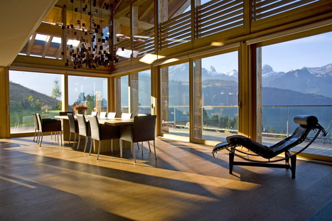 Seasons in Colour review the Callender Howorth's Ski Chalet in Switzerland | Luxury Real Estate | Scoop.it
