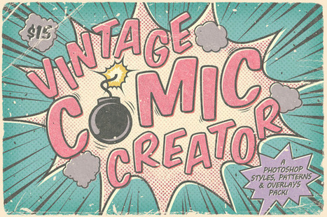Vintage Comic Creator | digital marketing strategy | Scoop.it