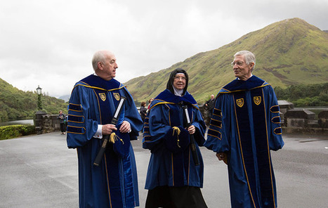 Notre Dame announces Kylemore Abbey will be a new Irish campus | Visit Ancient Greece | Scoop.it