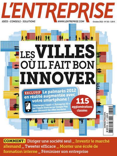 Quelles sont les villes où il fait bon innover ? - L'Express | Collectivitésinnovantes | Scoop.it