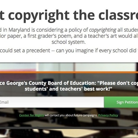 Don't Copyright Me launches to protect US schoolkids' homework ... | copyright laws | Scoop.it