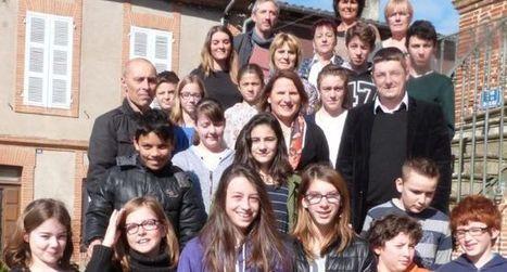 Le conseil des jeunes présente ses projets au député | Le collège Antonin Perbosc à la Une ! | Scoop.it