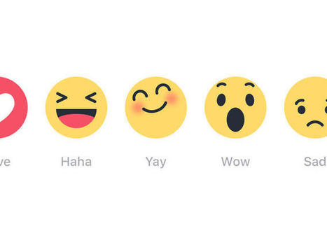Facebook 'Reactions' test lets you express many more feelings than just 'like' | Social Media Marketing and Technology | Scoop.it