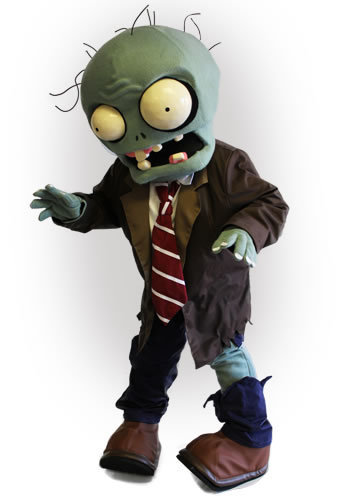 Street Characters Inc. Mascot of the Month for  April 2014. Zombie! from PopCap Games' Plants vs. Zombies! | Mascots | Scoop.it