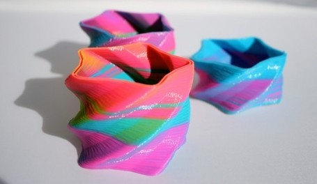 3-D Printer Hack Produces Eye-Popping Color | FabLab today | Scoop.it