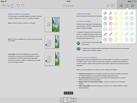 Easy Annotate, visualiza y haz anotaciones en 2 PDF a la vez en iPad   TIC y educación   Scoop.it
