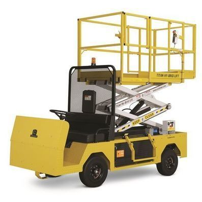 CE for Cushman scissor lift - Vertikal.net | Gross Vehicle Mass Upgrades | Scoop.it
