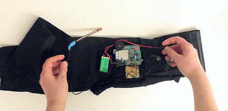 Correct Your Bad Posture with Arduino - The Wall Breakers | Arduino, Netduino, Rasperry Pi! | Scoop.it