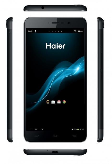 La HaierPad H6000 au CES 2014, quand Haier se lance dans les phablettes | Geeks | Scoop.it