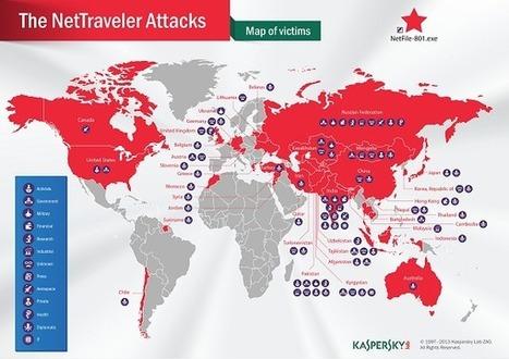 NetTraveler espionage campaign infiltrates high-profile targets worldwide  | ZDNet | Servizi segreti e spionaggio | Scoop.it