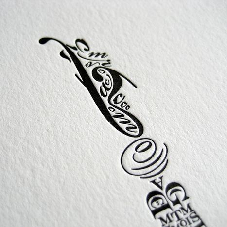 Cameron Moll's Typographic Letterpress Print of the Brooklyn Bridge | Colossal | Novas de Artes e Oficios | Scoop.it