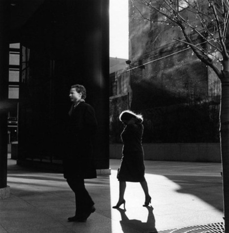 A Study of Light, Shadows, and Framing: Street Photos by Ray Metzker - PetaPixel | Master Photographers | Scoop.it