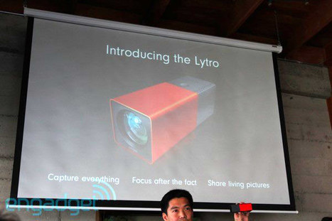 Lytro introduces world's first light field camera: f/2 lens, $399, ships early 2012 | Tools You Can Use | Scoop.it