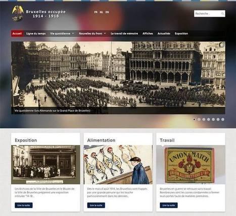 #Bruxelles 14-18, le nouveau site de la ville de Bruxelles pour les commémorations de 2014. | Les références de la Maison du tourisme de Dinant et la Haute-Meuse | Scoop.it