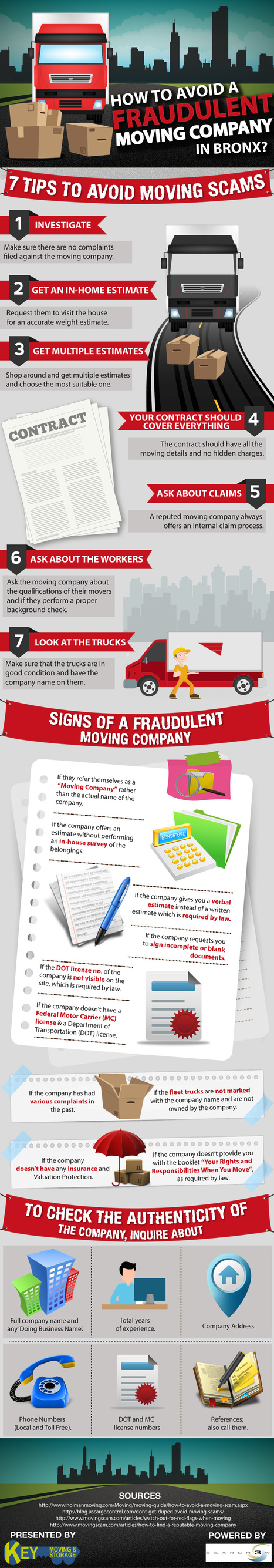 Tips to avoid moving scams [Infographic | Infographic | Scoop.it