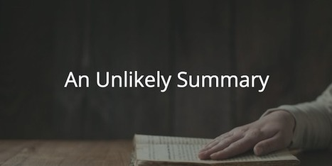 Proverbs 30: An Unlikely Summary | Devotionals | Scoop.it