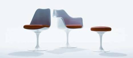Culte du design : la chaise Tulipe d'Eero Saarinen   Histoire des arts à Orlinde   Scoop.it