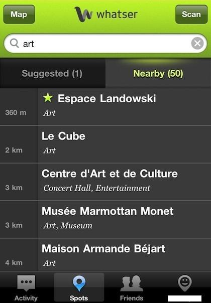 Whatser : partager vos lieux favoris | Mobile Apps & geolocalisation | Scoop.it