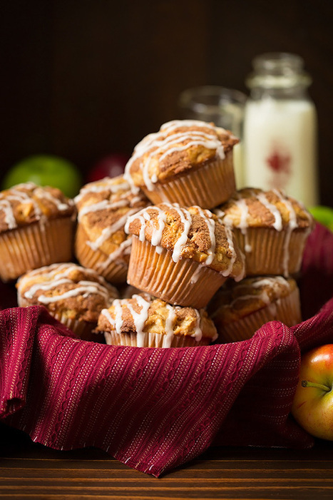 Apple Snickerdoodle Muffins - Cooking Classy | Passion for Cooking | Scoop.it