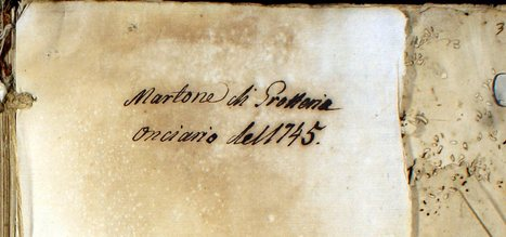 Martone, [RC] Catasto Onciario 1745 | Généal'italie | Scoop.it