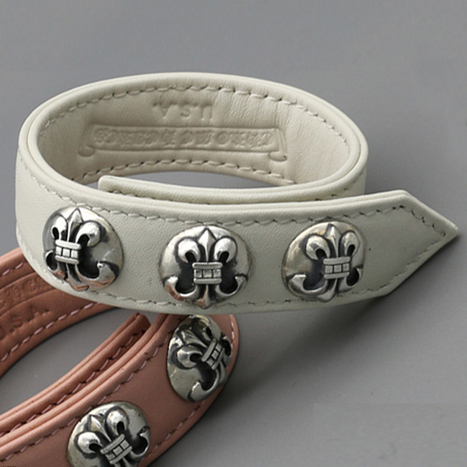 Cheap Chrome Hearts Scout Foower White Leather Bracelets [Chrome Hearts Leather Bracelets] - $289.00 : Cheap Chrome Hearts | Chrome Hearts Online Store | Tayler Kula | Scoop.it