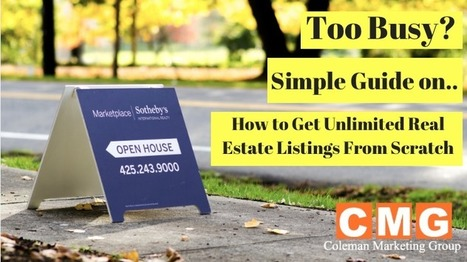 Too Lazy? Simple Guide on How to Get Unlimited Real Estate Listings From Scratch | Online Marketing | Scoop.it