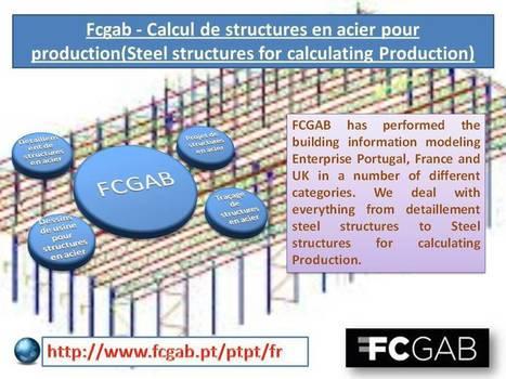 Fcgab - Calcul de structures en acier pour production   FCGAB - Steel Detailing   Scoop.it