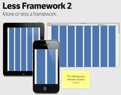 12 frameworks HTML5 para crear webs responsivos | Desarrollo Web | Scoop.it