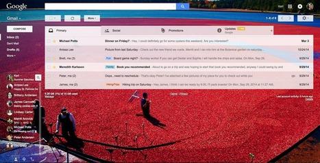 Gmail : une mise à jour sur la forme du client web | Geeks | Scoop.it