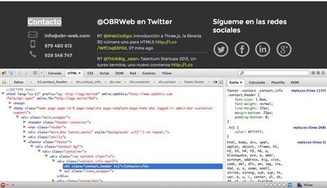 Firebug, fundamental para cualquier desarrollador web - Blog Devland | Desarrollo Web | Scoop.it