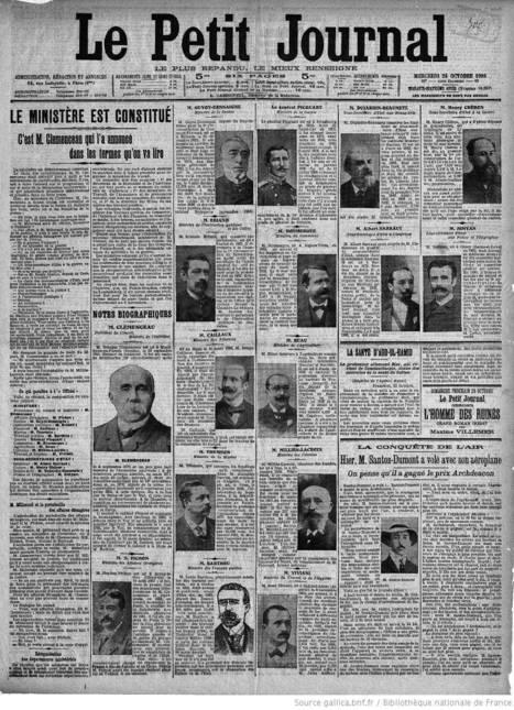 Le Petit journal - 24 octobre 1906   Rhit Genealogie   Scoop.it