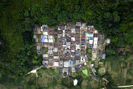 Fantastic set of aerial photos exploring the phenomenon of urbanization in China | Archivance - Miscellanées | Scoop.it