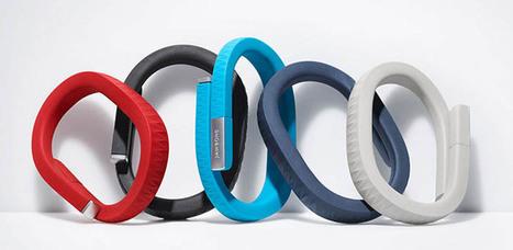 Le bracelet fitness Jawbone UP permettra bientôt de fonctionner avec d'autres applications de santé | BlogNT | Nouvelles Interactions | Scoop.it
