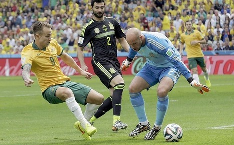 Spain v Australia, World Cup 2014: as it happened - Telegraph | The Brazil World Cup | Scoop.it