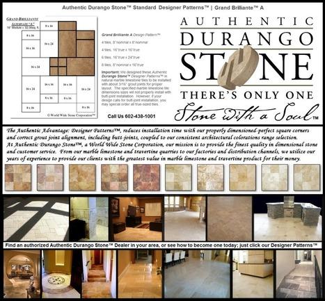 11 of 13 West Coast Travertine Tile Flooring Design Patterns | Popular Marble Limestone Travertine Tile Patterns | Scoop.it