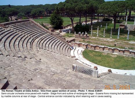 Ostia Antica Theatre History   Arte Antiguo Romano   Scoop.it