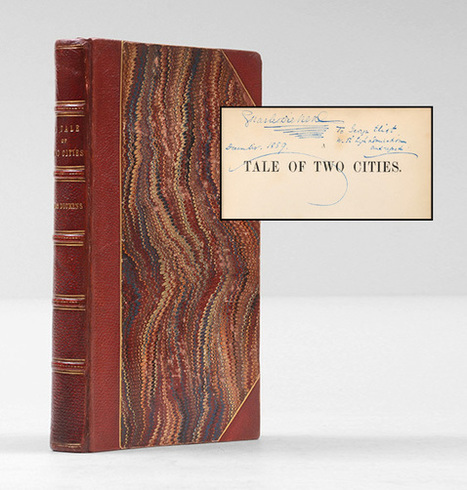 La plus grande enchère pour un manuscrit de Charles Dickens | Aristophil | Scoop.it