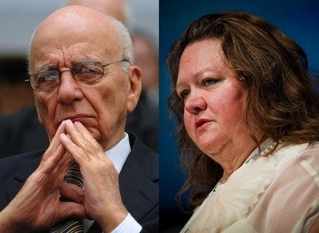 Gina Rinehart and Rupert Murdoch: a study of power in the media | Digital journalism and new media | Scoop.it