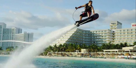 Someone Has Finally Invented A Real-Life Hoverboard   Xposed   Scoop.it