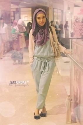Tips Mix And Match Model Baju Jumpsuit Muslimah | Gaun Pesta Muslim Syar'i | Scoop.it